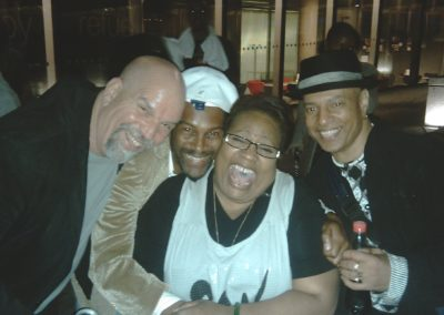 Cuttie Williams with Chris Newland, Jocelyn Brown & Roy Hamilton
