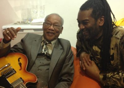Cuttie Williams with Earnest Ranglin