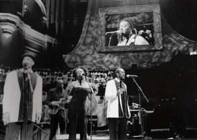 Cuttie Williams with AllStars at Royal Albert Hall